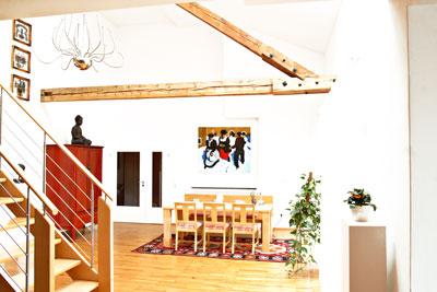 Über den Dächern von Augsburg: Ein Loft